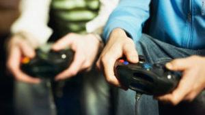 deux joueurs de jeux vidéo