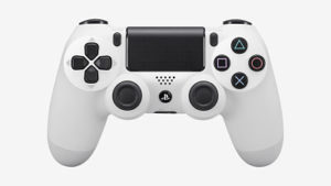 manette PS4 Dual Shock 4 blanche par SONY